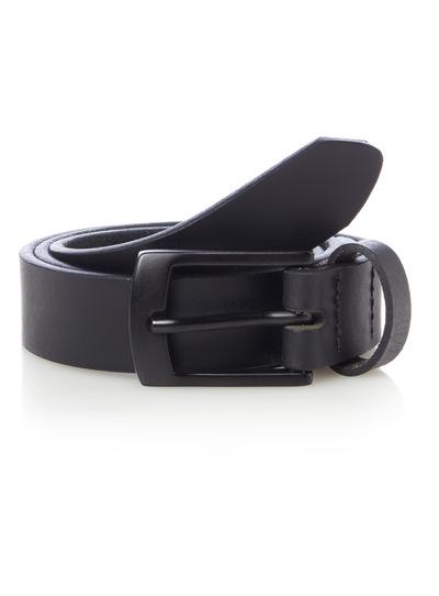 Black Leather Belt (3-12 years)