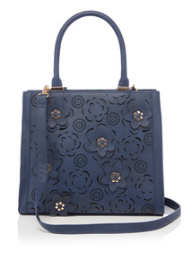 Flower Laser Cut Bag