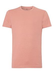 Dark Pink Crew Neck T-Shirt