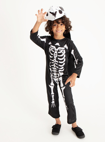 T-Rex Skeleton Halloween Costume (3 - 12 years)  sc 1 st  Tu clothing & Childrens Dress Up
