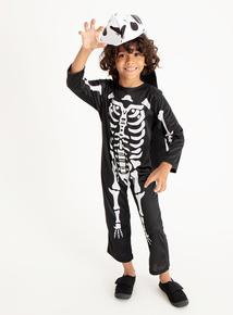 T-Rex Skeleton Halloween Costume (3 - 12 years)