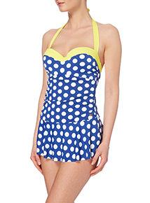 Gok Skirted Ultimate Control Swim Suit