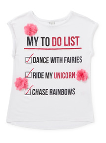 Multicoloured Glitter To Do List Top (3-14 years)