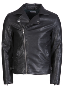 Frontman Faux Leather Biker Jacket