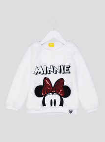 Disney Minnie Mouse White Sweatshirt (1 - 7 years)