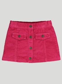 Pink Corduroy Skirt (9 months-6 years)