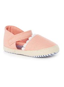 Pink Espadrilles (0-18 months)