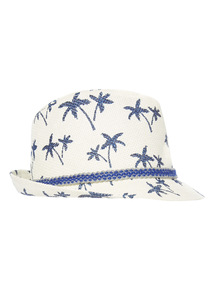 Multicoloured Palm Tree Trilby Hat (1 - 12 years)