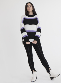 GFW Online Exclusive Multicoloured 80s Style Jumper