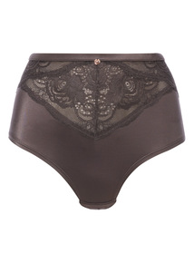 Grey Gok High Waist Brazilian