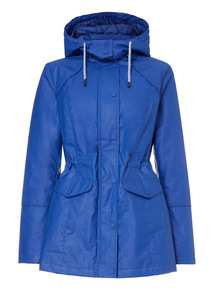 Blue Primary Technical Coat