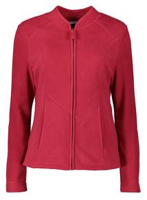 Online Exclusive Red Zip Up Fleece