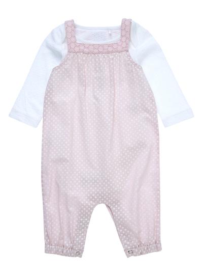eab18ac1dedb Baby Girls Pink Dungarees Set (0-24 months)