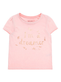 Pink I'm A Dreamer Tee (9 months - 6 years)