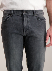 Online Exclusive Grey Slim Fit Denim Jeans