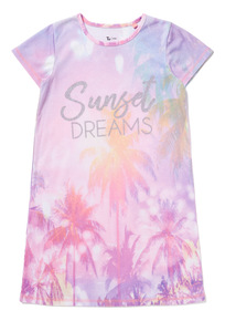 Multicoloured 'Sunset Dreams' Nightie (3-14 years)