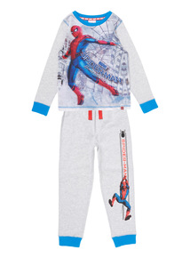 Grey Spiderman PJ Set (2-12 years)