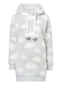 Cloud Print Hoody