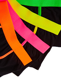 5 Pack Multicoloured Neon Waistband Trunks (3-14 years)