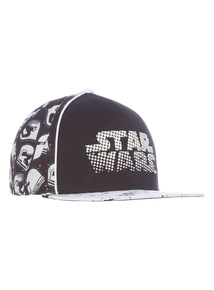 Black Disney Star Wars Cap (2 - 12 years)