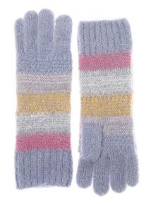 Multicoloured Rainbow Stripe Glove
