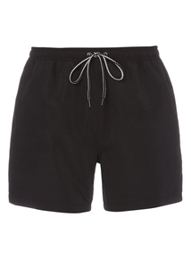Black Quick Dry Swim Shorts