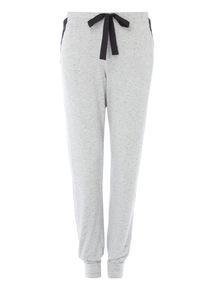 Grey Full Leg Lace Pyjama Bottom