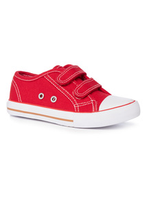 Velcro Strap Canvas Shoe (4 Infant - 4)