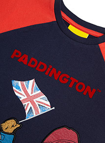 Navy Paddington Bear T-Shirt (9 months-6 years)