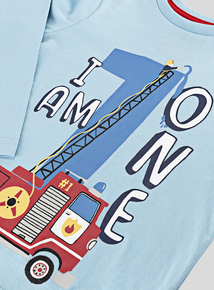 I Am One Printed Slogan Long Sleeve T-Shirt (9-24 Months)