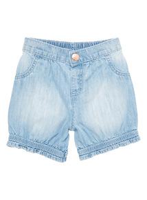 Girls Denim Shorts (0 - 24 months)