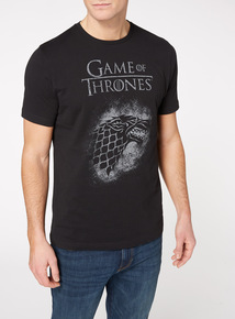 Black 'Game of Thrones' T-Shirt