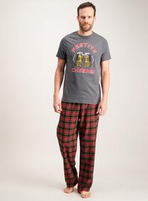 Christmas 'Festive Cheers' Pyjamas