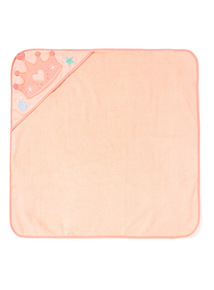 Pink Sea Friends Towel (0-24 months)