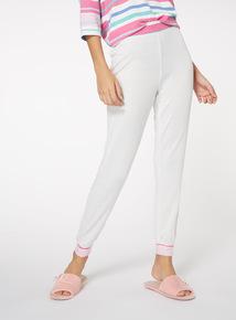 Supersoft Stripe Waist Pyjama Bottoms