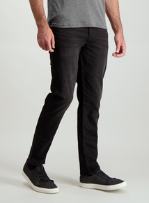 Black Denim Stretch Jeans