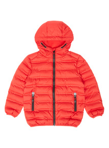Red Puffa Jacket (3-14 years)