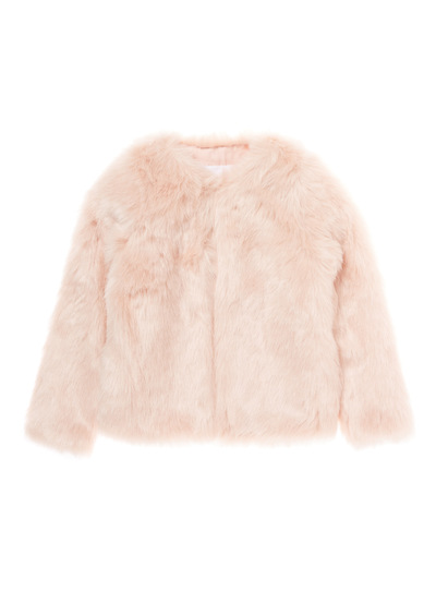 Pink Fur Coat (3-14 years)