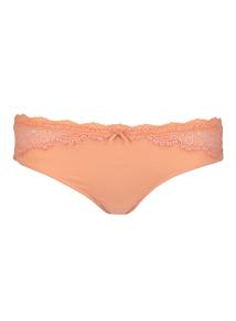 Orange Lace Brazilian
