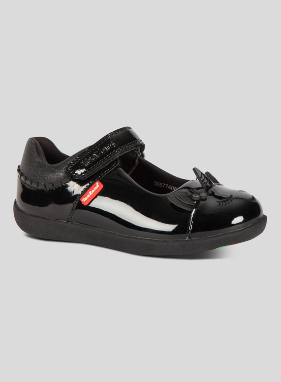 23e4c60d9c5 Kids ToeZone Black Patent Unicorn School Shoes (8 Infant - 1) | Tu clothing
