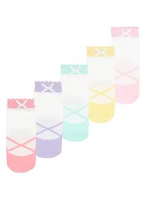 Ballet Socks 5 Pack (1 - 24 months)
