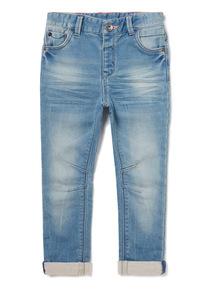 Light Wash Denim Skinny Jeans (9 months-6years)