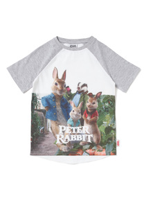 Multicoloured Peter Rabbit T-shirt (9 months-6years)
