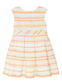 Multicoloured Stripe Dress (9 months - 6 years)