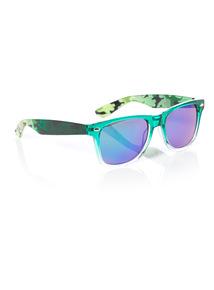Green Camouflage Sunglasses