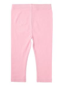 Girls Pink Leggings (0-24 months)