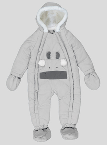 Grey Moose Quilted Snowsuit (0-24 months)
