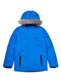 Blue Performance Coat (3-14 years)