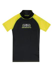 Unisex yellow rash vest (3-12 years)