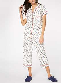 Multicoloured Balloon PJ Set
